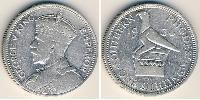 1 Шиллинг Южная Родезия (1923-1980) Серебро