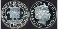 5 Pound Regno Unito (1922-)  Elisabetta II (1926-)