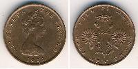 1/2 Penny  Bronze