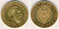 10 Mark Kingdom of Prussia (1701-1918) Gold