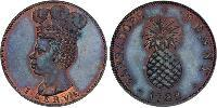 1 Penny Barbados Copper
