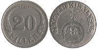 20 Filler Ungarn (1989 - ) Kupfer/Nickel