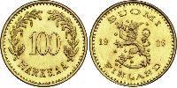 100 Mark Finland (1917 - ) Gold