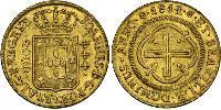4000 Reis Brazil Gold