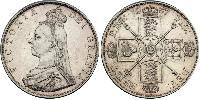 2 Florin United Kingdom of Great Britain and Ireland (1801-1922) Silver Victoria (1819 - 1901)