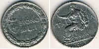 1 Lira Kingdom of Italy (1861-1946) Nichel