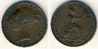 1 Farthing United Kingdom Copper Victoria (1819 - 1901)