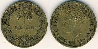 1 Shilling British West Africa (1780 - 1960) Brass George VI (1895-1952)
