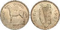 1/2 Crown Irland (1922 - ) Kupfer-Nickel