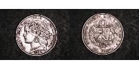 1 Peseta Peru Silver