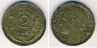 2 Franc Vichy France (1940-1944) Bronze
