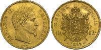 100 Franc Second Empire (1852-1870) Or Napoleon III (1808-1873)