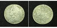 1 Shilling Empire britannique (1497 - 1949) Argent George II (1683-1760)