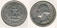 1/4 Dollar USA (1776 - )