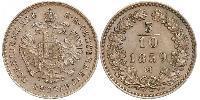 5/10 Kreuzer Austrian Empire (1804-1867) Copper