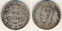 1 Rupee Seychelles Silver