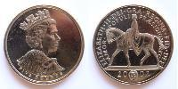 5 Pound United Kingdom (1922-) Copper-Nickel Elizabeth II (1926-)