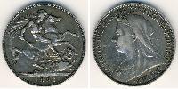 1 Крона(английская) Великобритания (1707 - ) Серебро