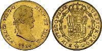 8 Escudo Kingdom of Spain (1814 - 1873) Gold Ferdinand VII of Spain (1784-1833)