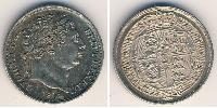 1 Sixpence United Kingdom of Great Britain and Ireland (1801-1922) Silver