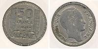 50 Franc Algeria Rame-Nichel