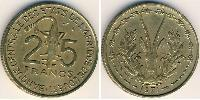 25 Franc African Union Aluminium-Bronze