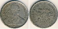 1 Piastre French Indochina (1887-1954) Copper-Nickel