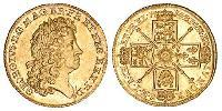 1 Guinea Kingdom of Great Britain (1707-1801) Gold George I (1660-1727)