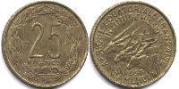 25 Franc Cameroon