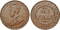 1 Penny Australia (1788 - 1939) Bronze George V of the United Kingdom (1865-1936)
