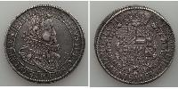 1 Thaler Alsace Silver Rudolf II, Holy Roman Emperor (1552 - 1612)