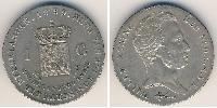 1 Gulden  Plata