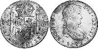 8 Real Viceroyalty of the Río de la Plata (1776 - 1814) / Bolivia Silver Ferdinand VII of Spain (1784-1833)