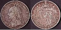 18 Piastre British Cyprus (1878 - 1960) Silver Victoria (1819 - 1901)