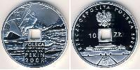 10 Злотий Республіка Польща (1991 - ) Срібло