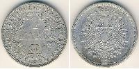1 Mark Germany Silver