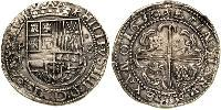 8 Real Spain / Viceroyalty of Peru (1542 - 1824) / Bolivia Silver Philip IV of Spain (1605 -1665)