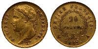 20 Franc First French Empire (1804-1814) / France  Napoleon Bonaparte  (1769 - 1821)