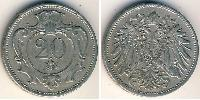 20 Heller Austria-Hungary (1867-1918) Nickel