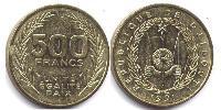500 Franc Djibouti