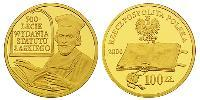 100 Zloty Third Polish Republic (1991 - ) Oro