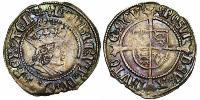 1/2 Crown Kingdom of England (927-1649,1660-1707) Silver Henry VII (1457 - 1509)