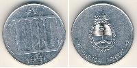 1000 Austral Argentina (1861 - ) Alluminio