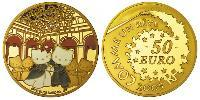 50 Euro French Fifth Republic (1958 - ) Gold