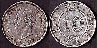 10 Cent Sarawak Silver