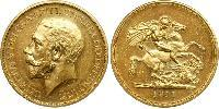5 Pound United Kingdom of Great Britain and Ireland (1801-1922) Gold George V of the United Kingdom (1865-1936)