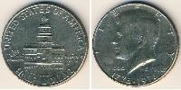 1/2 Dollar USA (1776 - ) Copper-Nickel