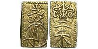 2 Shu Tokugawa shogunate (1600-1868) / Japan Gold-Silver