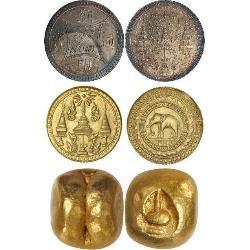 Thailand (Siam) - Rattanakosin Kingdom (XVIII - XX centuries) (21) coins - spa1