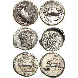 Nice Ancient Tetradrachms (33) coins - spa1